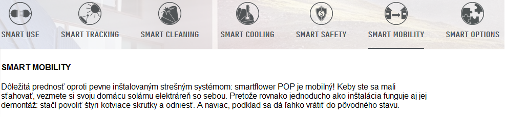smartflower POP 8