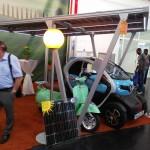 Intersolar Mníchov 2016 Prístrešok na auto