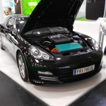 Intersolar Mníchov 2016 Elektromobil Porsche