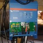 1F hybridný systém 6,8 kWp  bratislavský kraj - montáž technológie (menič)